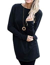 ccd8f508a9 Amazon.it: maxi maglia per leggings donna: Abbigliamento