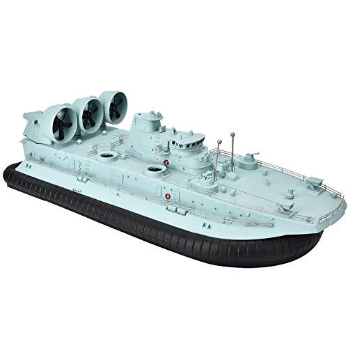 RC Boot für Pools und Seen,110-240V HG-C201 Maßstab 1/110 2.4G Fernbedienung Hovercraft Amphibious Tiny Hochgeschwindigkeits Elektro-Rennboot Spielzeug mit leistungsstarkem Motor für Kinder Erwachsene