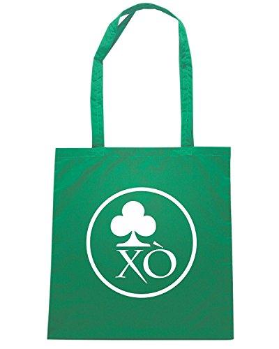 T-Shirtshock - Borsa Shopping T0609 trifoglio irlanda festivita Verde