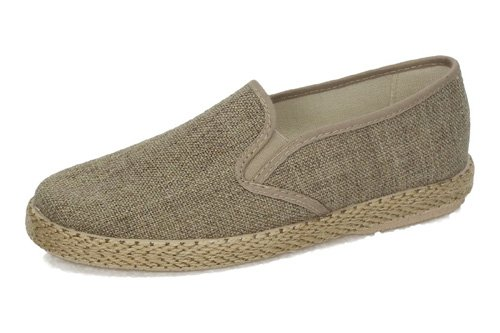 MADE IN SPAIN , Herren Espadrilles  Beige Tostado