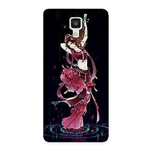 Impressive Princess Pose Back Case Cover for Xiaomi Mi 4
