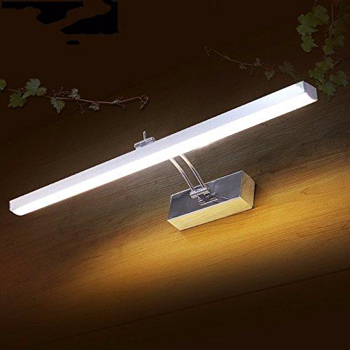 SJUN 400Mm Rock-Arm Bad Spiegel Licht Führte Schlafzimmer Studie Schreibtisch Overhead Lampe Bild Beleuchtung 110V 220V 7W,Warmweiß Overhead-lampe