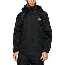 The North Face M Resolve Jacket Chaqueta, Hombre, TNF Negro/TNF Negro, M