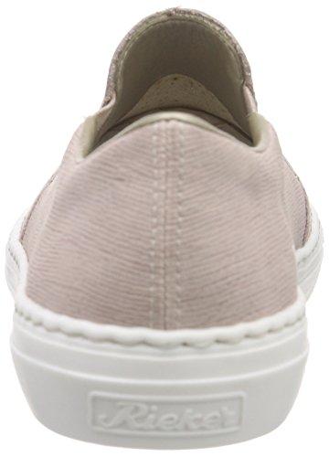 Rieker M3966 Women Loafers Damen Slipper Rosa (rose/rose / 31)