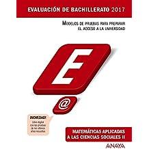 Matemáticas aplicadas a las Ciencias Sociales II (Evaluación de Bachillerato 2017)