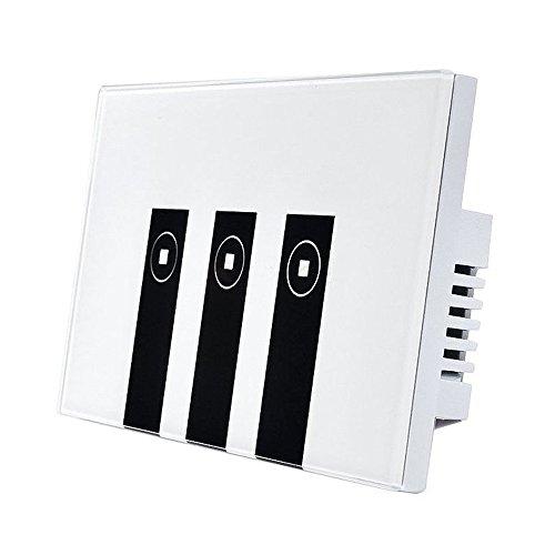 Sodial wifi smart alexa light switch, pannello interruttori luce a parete 3 gang touch