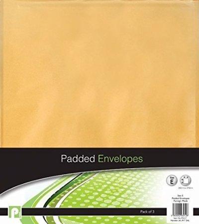 6Peel & Seal E Größe Gepolsterte Umschläge//2Packungen von 3