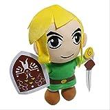 AMTSKR Zelda Legends Jeu Warrior Hero Link Plus Doll, 28cm Short Plus Toys