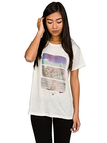 BILLABONG Damen Gangsta T-Shirt, Paradise, S