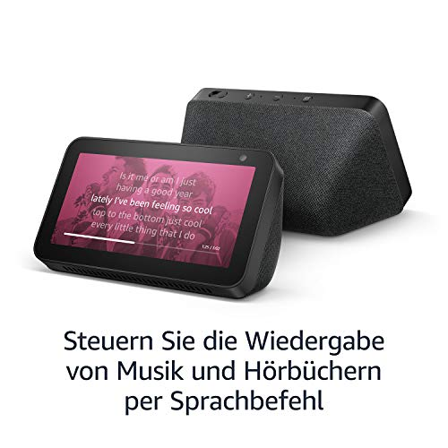 echo show 5 schwarz amazon smart plug wlan steckdose. Black Bedroom Furniture Sets. Home Design Ideas