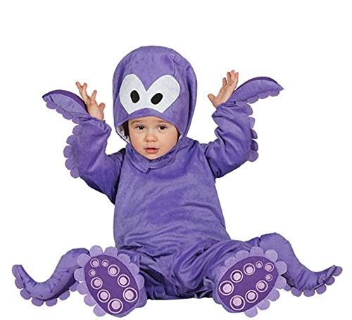 Kostüm Unter Dem Baby Meer - Guirca-Kostüm Oktopus Baby, Gr. 12-24Monate (86001.0)