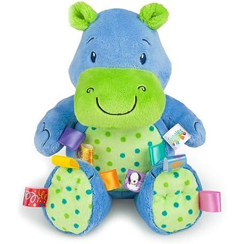 Taggies - Fun Lovin 'Pal - Blue Hippo Peluche