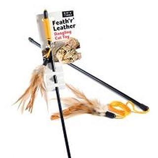 Feath 'r' Katzenspielzeug aus Leder