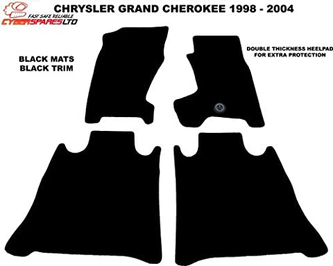 Jeep Grand Cherokee 1998-2004 Quality Tailored Car Mats