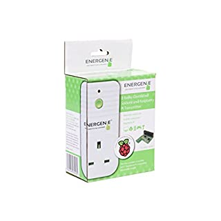 Energenie ENER002-2PI remote control sockets with Raspberry Pi controller board - white