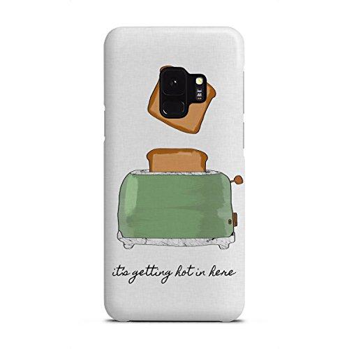 artboxONE Samsung Galaxy S9 Premium-Case Handyhülle It's Getting Hot in Here von Orara Studio