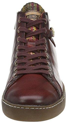Pikolinos - Yorkville W0d_i15, Sneaker alte Donna Rosso (Rot (Arcilla))