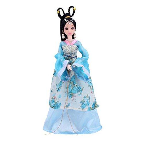 tüm Prinzessin / Göttin Spielzeug Menschen Puppen Mädchen Dressup-B (Alte Menschen Kostüme Für Kleinkinder)