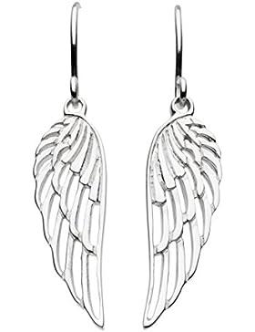 Dew Sterling Silber Engel Flügel Ohrringe