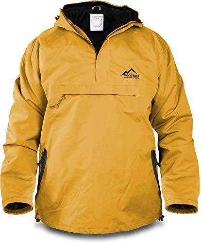 normani Winddichte Funktions-Jacke für Damen und Herren von S-4XL Farbe Gelb/Schwarz Größe L