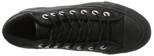 Converse Unisex-Erwachsene Chuck Taylor All Star Boot PC Hohe Sneaker Schwarz (Black/Black/Black)