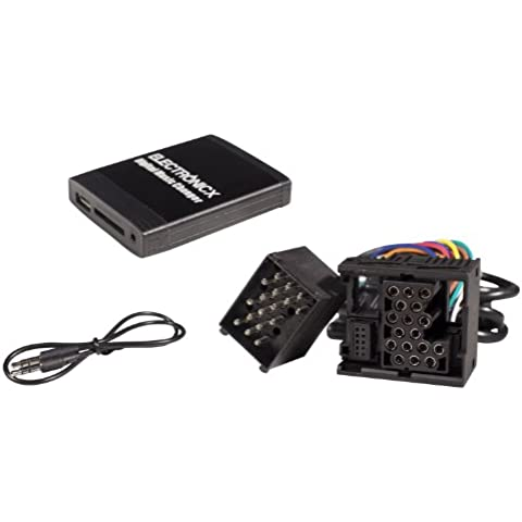 USB MP3 AUX SD CD Adaptador Cambiador para BMW E46, E39, E38, MINI -1