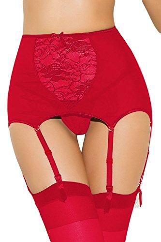 neue-damen-rot-weiss-hohe-taille-sexy-erotik-strapsgurtel-aus-spitze-dessous-stripper-outfit-einheit