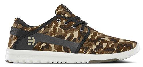 Etnies  Scout, Chaussures de Skateboard homme Vert (Army)