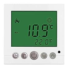 DASKOO C16.GH3 7 Tage Programmierbare Heizung Thermostat mit LCD-Display PC AC 85-250V 50/60Hz Für Haus, Schule, Büro, Geschäftsviertel
