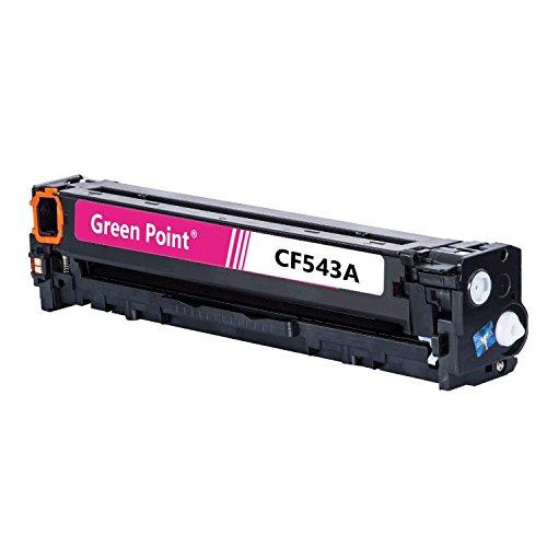 Preisvergleich Produktbild Greenpoint Toner Kompatibel zu HP CB543A - 125A - Color Laserjet CP1510 Series,  CM1512A,  CP1515N,  CP1519,  CP1210,  CP1214N - Magenta