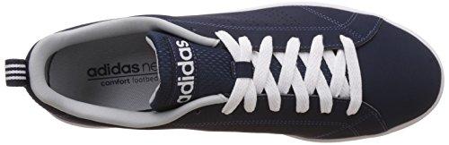 adidas Advantage Clean VS, Baskets Basses Homme, Blanc, Eu Azul (Maruni / Maruni / Onicla)