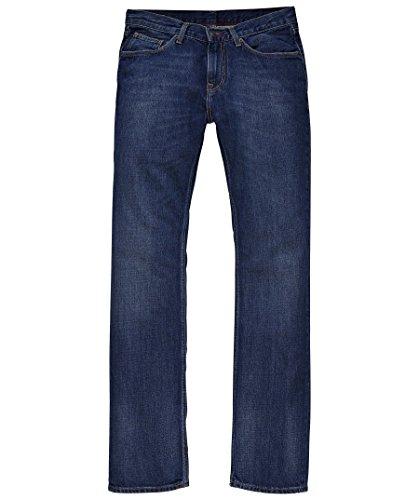 Tommy Hilfiger Herren Jeans Normaler Bund MERCER B MIDDLE BLUE / 867852216 Bleu (Darkblue)
