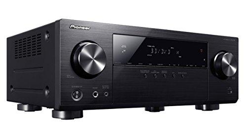Pioneer VSX-531-B 5.1 Mehrkanal Receiver (130 Watt Pro Kanal, Bluetooth, HDCP 2.2, Eco-Mode, 4K Ultra HD Passthrough) Schwarz