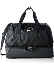 Nike Club Team Swsh Hrdcs M - Bolsa unisex, color negro / blanco, talla única