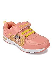 N Five Flat PU Pink Casual Shoes For Girls