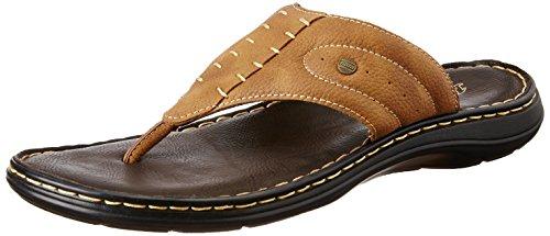 BATA Men's Terrance Cushion Brown Hawaii Thong Sandals - 8 UK/India (42 EU)(8714243)