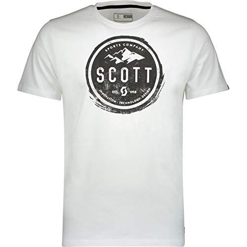 Preisvergleich Produktbild Scott T-Shirt 20 Casual Weiß Gr. XXL