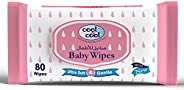 Cool & Cool Baby Wipes, Regular 80 Wipes, Pack