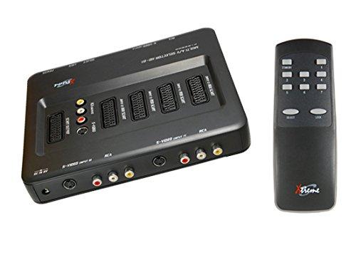 Xtreme-verstärker (Xtreme 22900Multi Scart Selector 7-fach mit Fernbedienung)