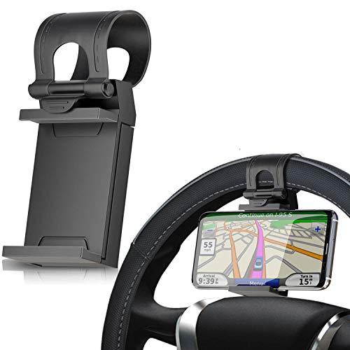 Silverback Handyhalter Fürs Auto - KFZ Handy Autohalterung Universal Halterung Für Google Pixel 2 2 XL Lenkradhalterung Handyhalterung In Schwarz