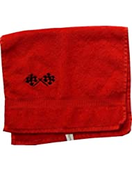Handtuch aus Frottee mit Bestickung Rennflagge