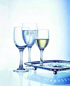 Cristal d'Arques 9295150 Vicomte Coffret Verres à Pied 24 Cl Lot de 6