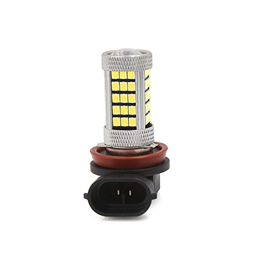 R SODIAL La basse pression H8 18 5050SMD Feu LED antibrouillard blanc de la voiture 12V DC