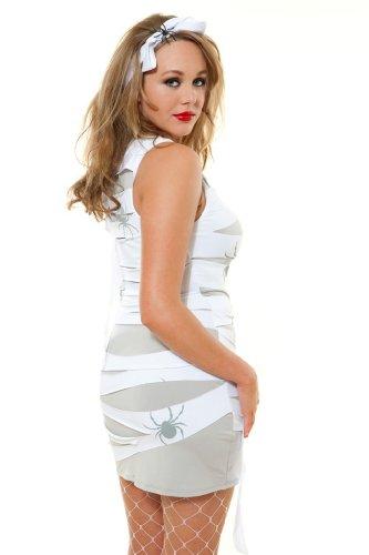 Role Play Damen Kleid Schwarz Yummy Mummy