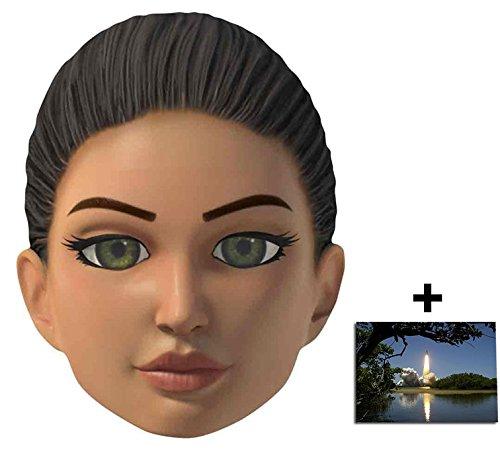 Puppet Kostüm String - Kayo Thunderbirds Are Go Single Karte Partei Gesichtsmasken (Maske) Enthält 6X4 (15X10Cm) starfoto