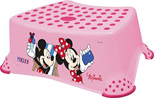 Disney minni topo set di due supporto per wc sgabello imparare