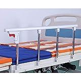 MZP Barriera Sponda Letto Maniglia Sicurezza Pieghevole Parapetto Ospedale Guardia per Anziani Disabili, Adulti Bambini Universale Singolo Ringhiera (Color : A, Size : 95x40)