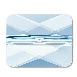 Mini Rectangle Swarovski 5055 8x6 mm Crystal Blue Shade x1