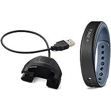 BlueBeach® Reemplazo USB carga cable cargador Dock para Garmin vivosmart con la función de datos