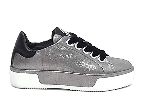Janet sport Men s Trainers Silver Silver Silver Size  6.5 7f4476b2295